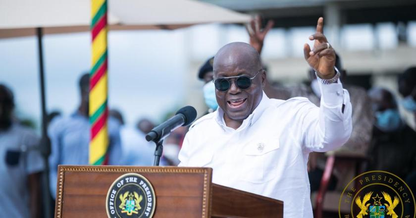 Pres Akufo-Addo cuts sod for $223 million water supply project
