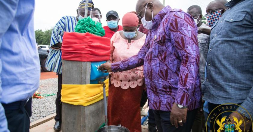 President Akufo-Addo commissions Nalerigu water supply project