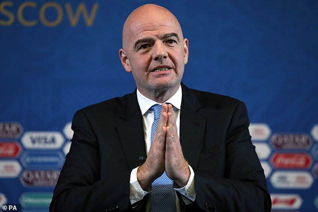 Gianni Infantino: Fifa president to continue in role amid criminal investigation