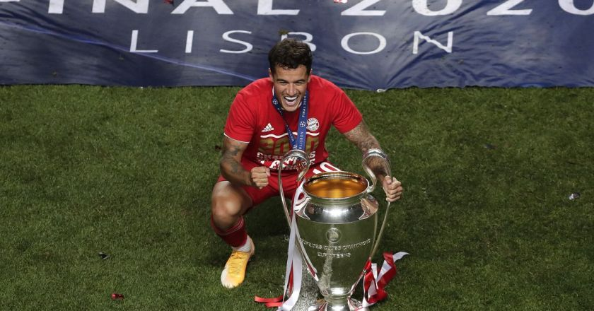 Arsenal transfer target Philippe Coutinho speaks out on his future after winning Champions League