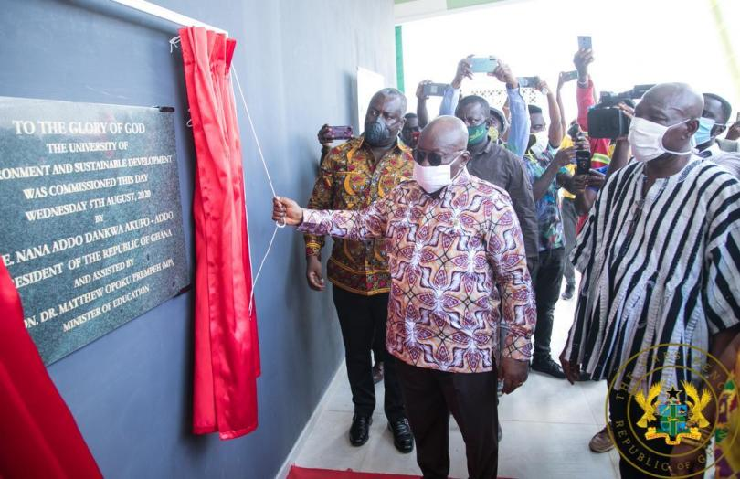 President inaugurates first phase of UESD