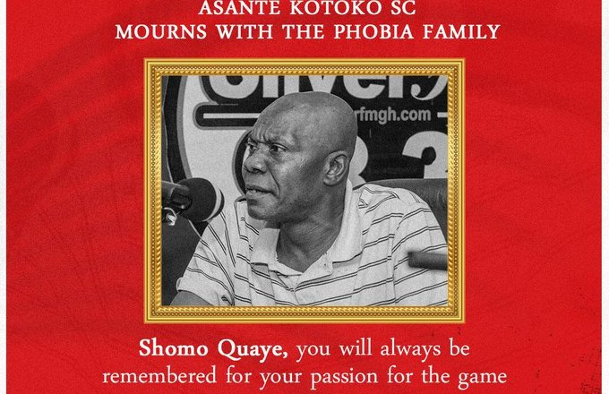 Kotoko mourns the death of staunch Hearts supporter Shomo Quaye