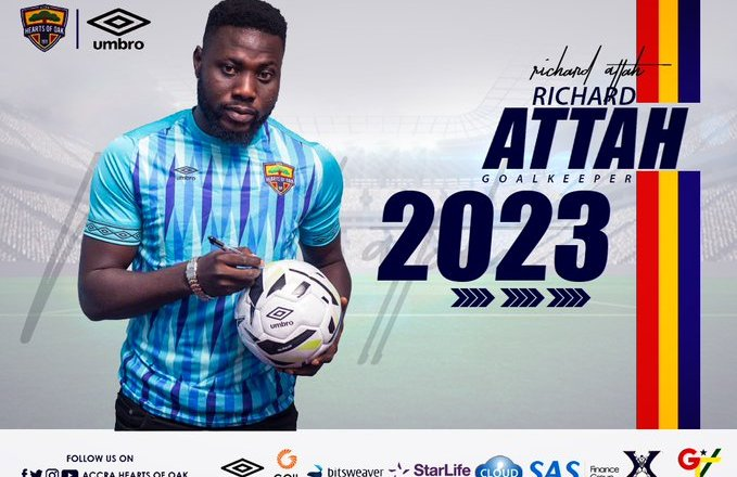 Hearts of Oak's Richard Attah extends contract to 2023
