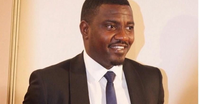 John Dumelo calls for halt in voting at GIMPA polling station