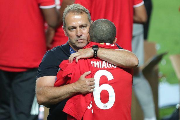 Bayern Munich boss Hansi Flick makes U-turn over Thiago Alcantara to Liverpool transfer
