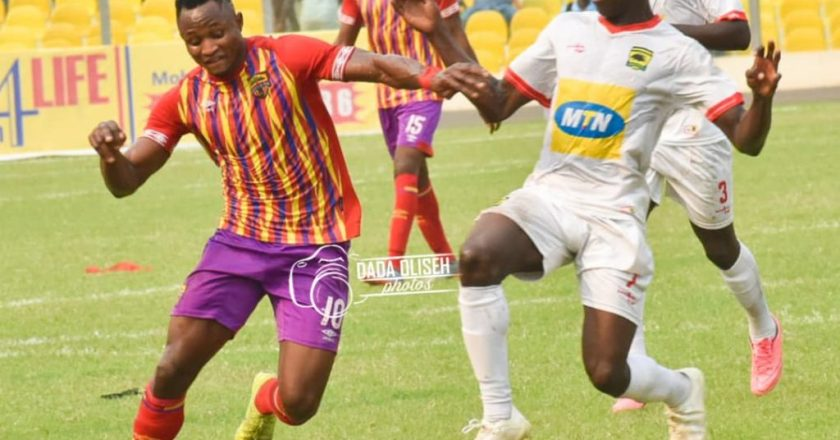 Hearts part with Joseph Esso and four others