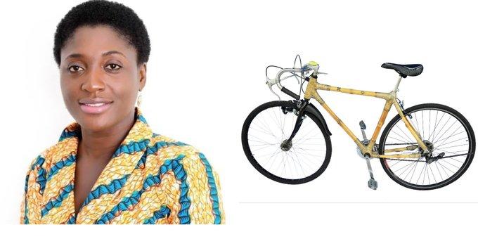 Meet Bernice Dapaah; the Ghanaian woman building bikes from bamboo
