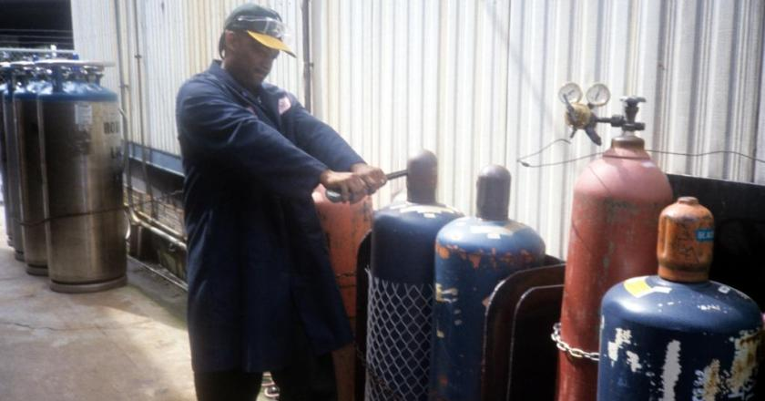 Don't refill defective gas cylinders-EPA