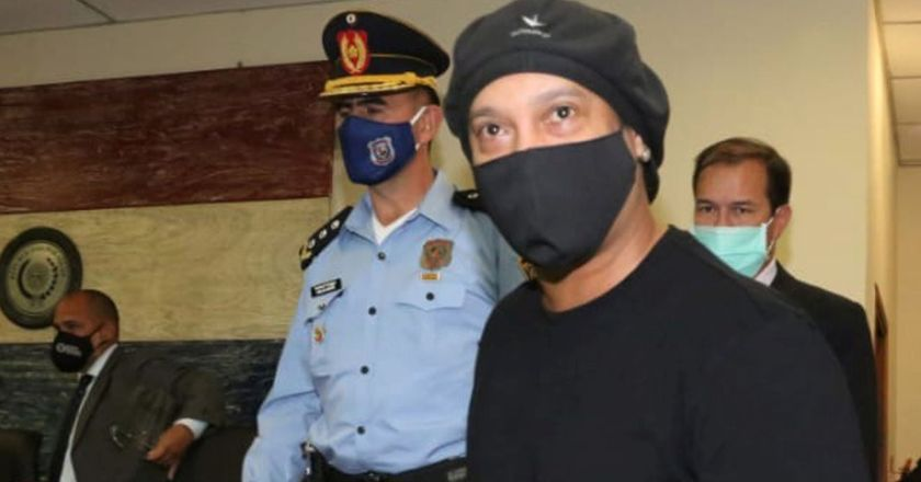 Ronaldinho released from house arrest in luxury hotel after five-month ordeal over fake passport