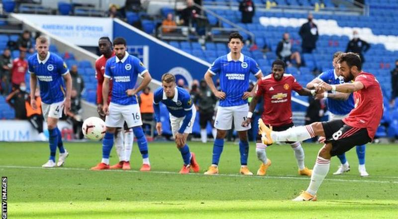 Manchester United snatch dramatic late win at Brighton