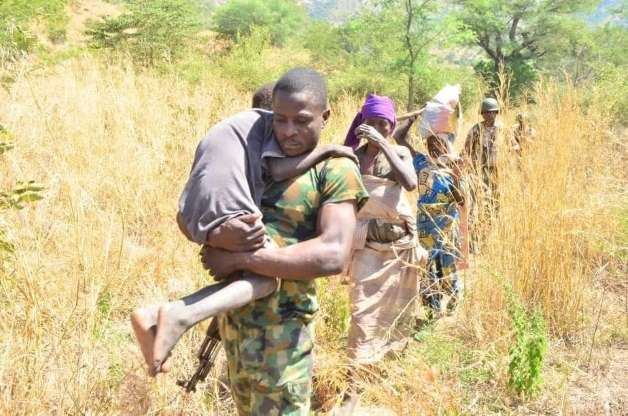 Military hands over 778 Boko Haram family members to governors for rehabilitation