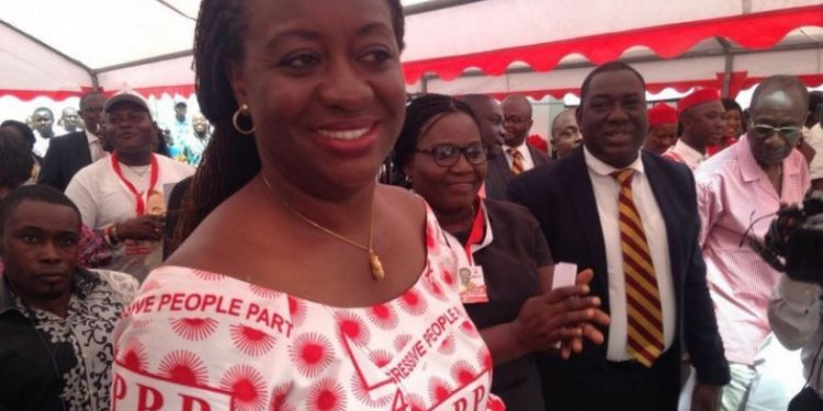 PPP acclaims Brigitte Dzogbenuku