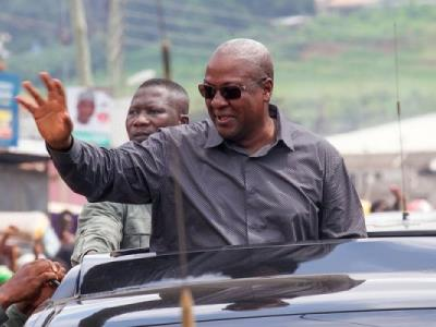 Mahama expresses concern about rising debt stock