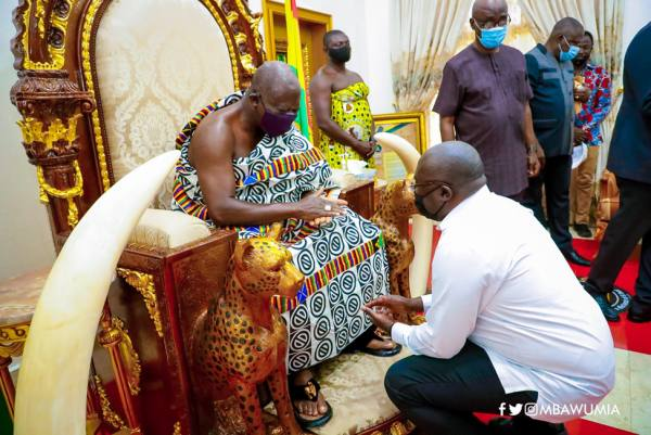 VP Bawumia Assures Asantehene Of NPP's Commitment To Peaceful Campaign And Elections