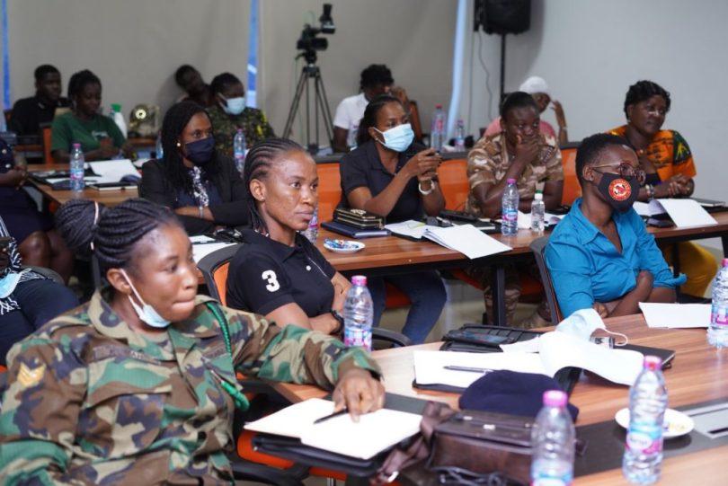 Female leaders in sports undergo training ahead of the new season