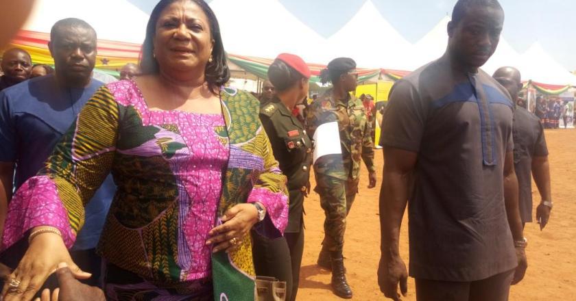 Mrs Rebecca Akufo-Addo appeals to  Okaikoi South voters to retain  NPP