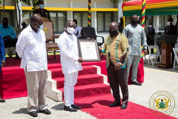 """""""Past Credit Pension Payments Of 2020 Public Sector Retirees Will Be Paid"""" – President Akufo-Addo"""