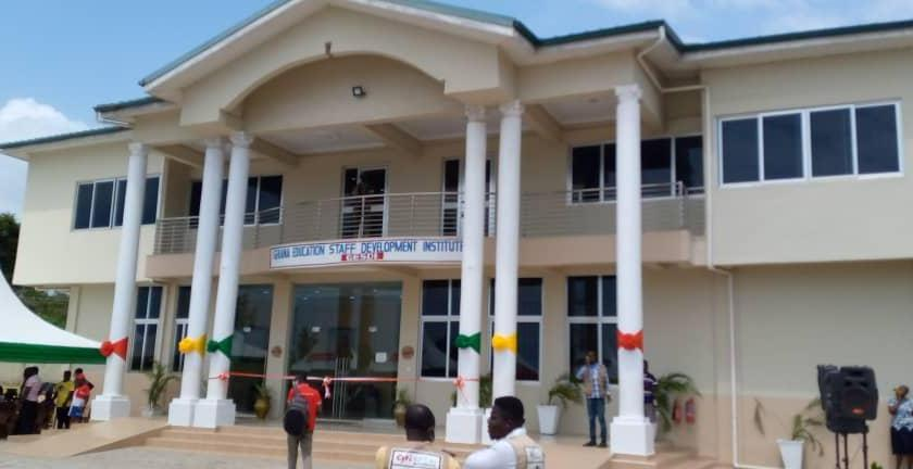 Veep commissions Training Institute for GES Staff at Saltpond