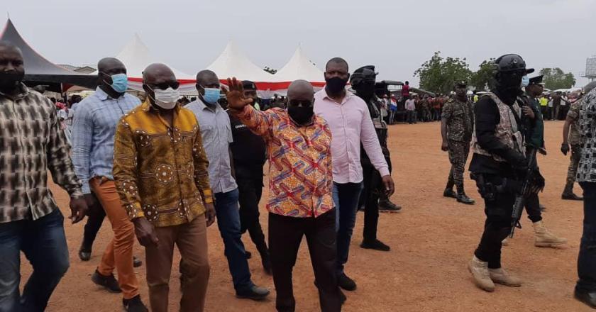 President Nana Akufo-Addo assures of peaceful election