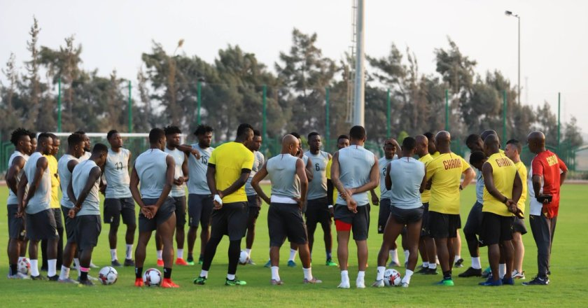 Stars holds first training ahead of Mali and Qatar game