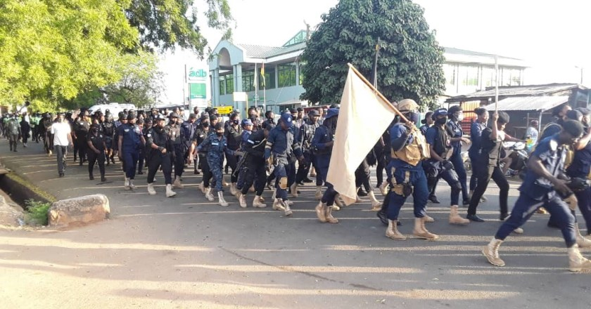 5,992 security personnel deployed in Eastern Region