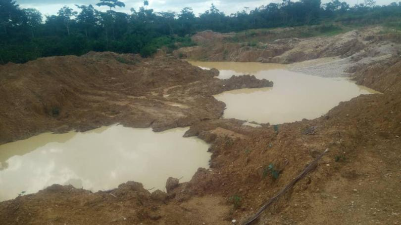 ''Stay Off Obomeng Stool lands'' Chief warns galamsey operators