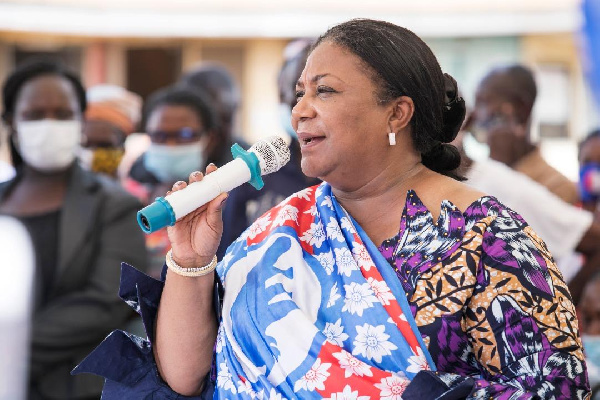 NPP MPs, your best bet: First Lady tells Ada and Sege residents