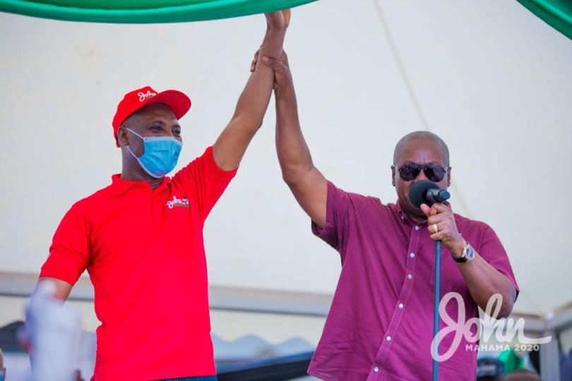 Akyem Ayirebi chiefs and elders declare support for Mahama