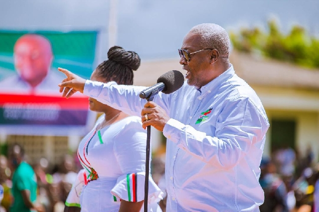 Akufo-Addo has nothing to show for ghs154 debt....Mahama fires
