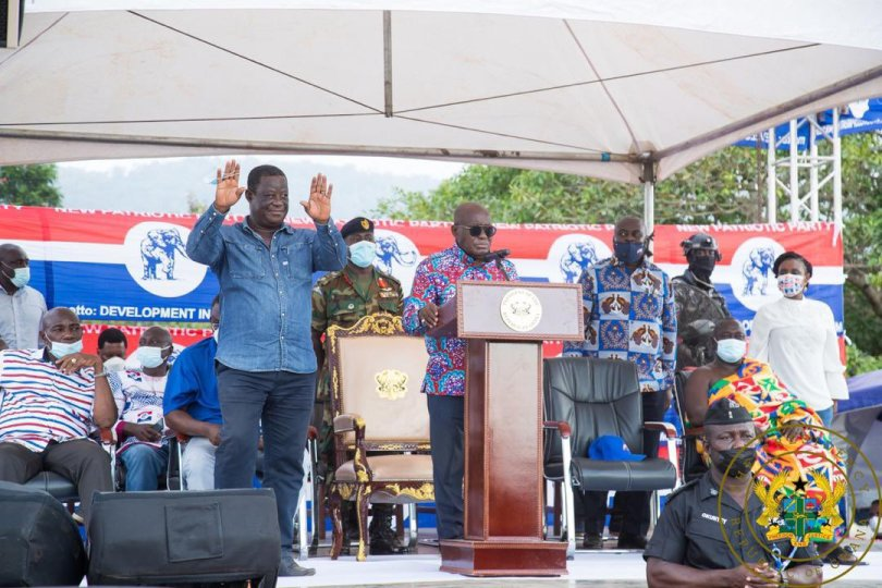 Akufo-Addo describes Amewu as outstanding Minister, excellent candidate for Parliament