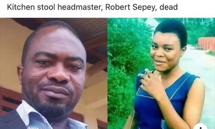 Kitchen stool headmaster dead