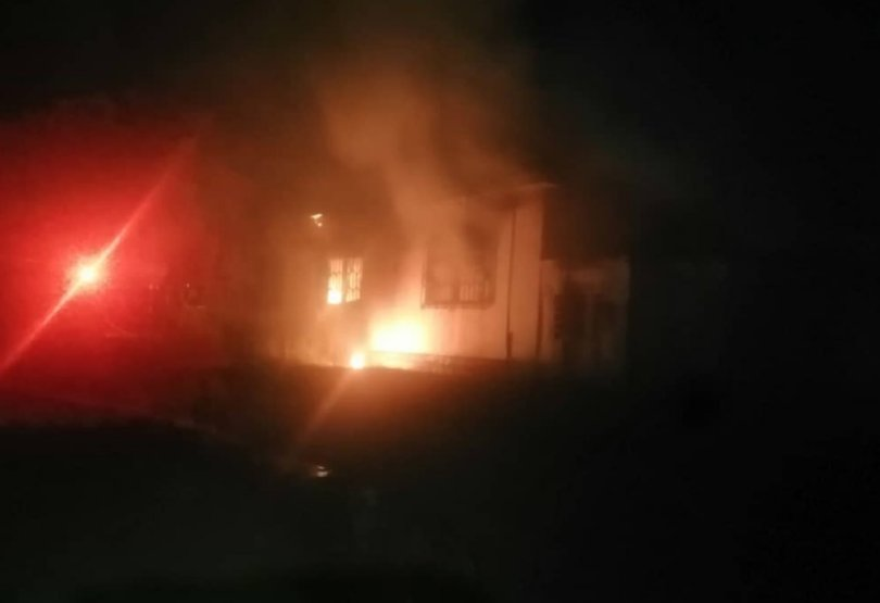 Fire guts Fomena EC office after independent candidate's win