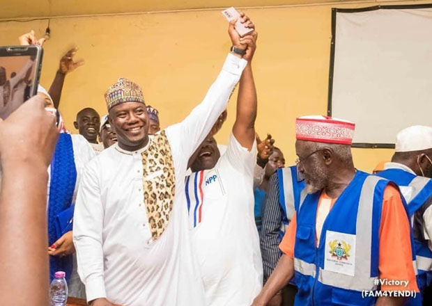 Farouk Aliu Mahama: Son of former Vice President wins in Yendi