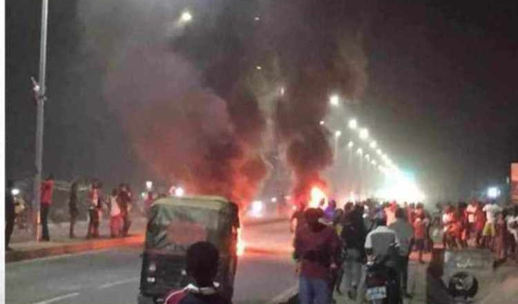 Calm restored to Tamale following burning of tyres, jubilation by NDC supporters