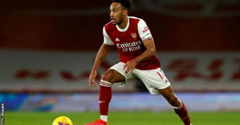 Pierre-Emerick Aubameyang has been ruled out of Tuesday's Carabao Cup quarter-final against Manchester City