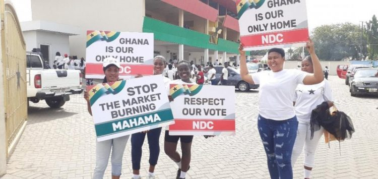 NDP appeals to Mahama to concede defeat in polls