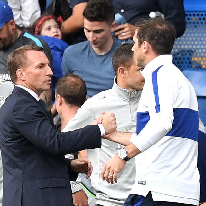 Chelsea considering Brendan Rodgers as Frank Lampard replacement
