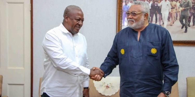 Rawlings doesn't want monuments, statues – Mahama