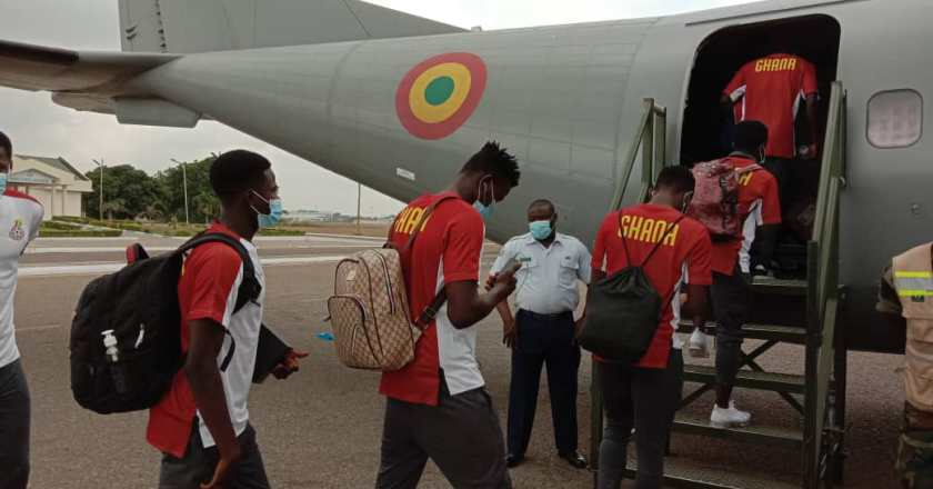 Black Satellites jet off to Mauritania for Afcon