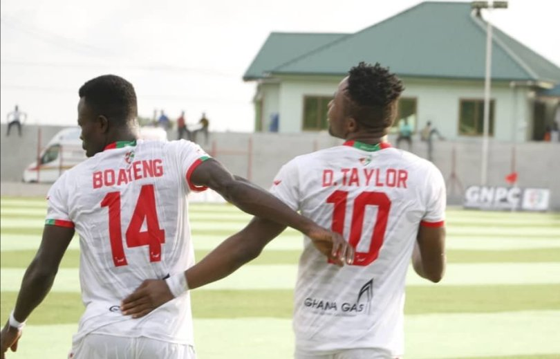 Diawusie and Boateng on target as Karela goes two points at the top