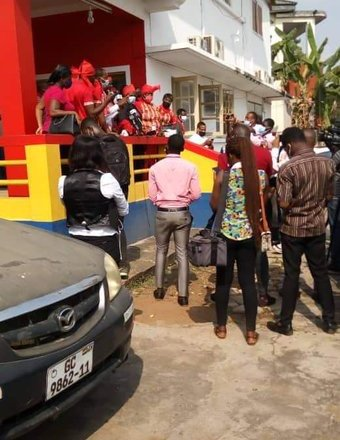 Accra Hearts of Oak supporters make four demands to Board chairman