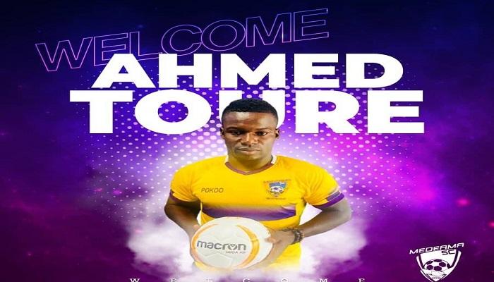 Two Ahmed Toure goals help Medeama sink Sharks in Elmina