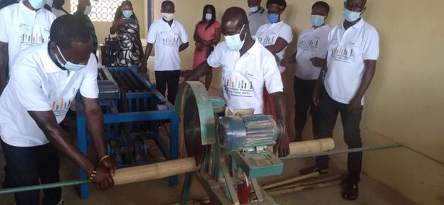 INBAR opens Bamboo Training Centre at Obogu