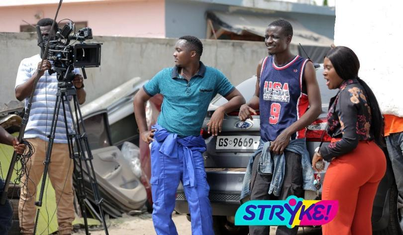 Fella Makafui rejoins Farmhouse Productions for Stryke series