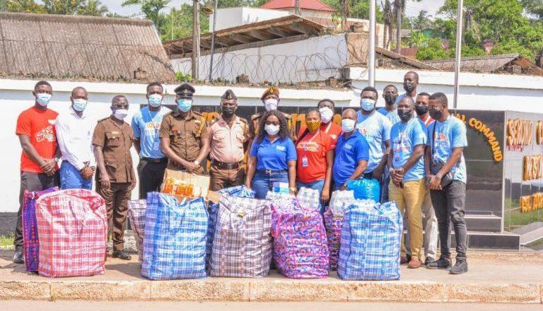 CEO of FOCUS1 Group gives to Sekondi Prisons