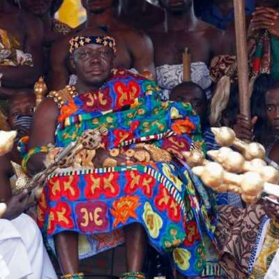 Kente – the Ghanaian cloth that's on the catwalk