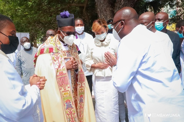 There Is Light Ahead Of You And No Man Can Dim It – Anglican Bishop To VP Bawumia