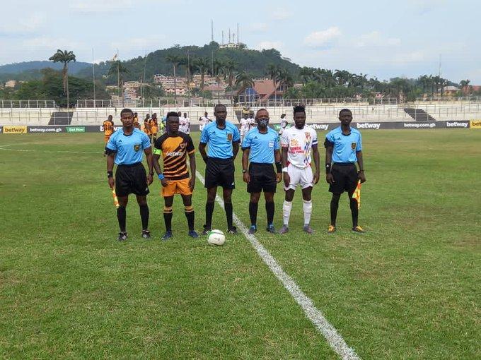 Ashanti Gold score in stoppage time to beat Hearts of Oak in Obuasi