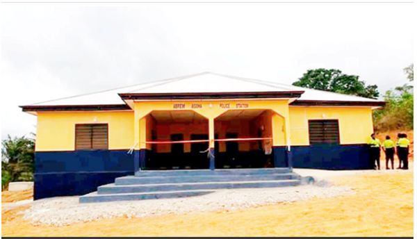 Church Of Pentecost Builds Police Station For Abrem Agona