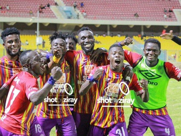 Ibrahim Salifu score to aid Hearts defeat Bechem United